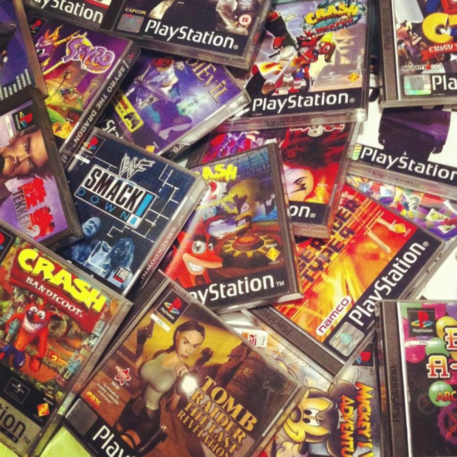 ¿Cuántos juegos se lanzaron para la primer Playstation?