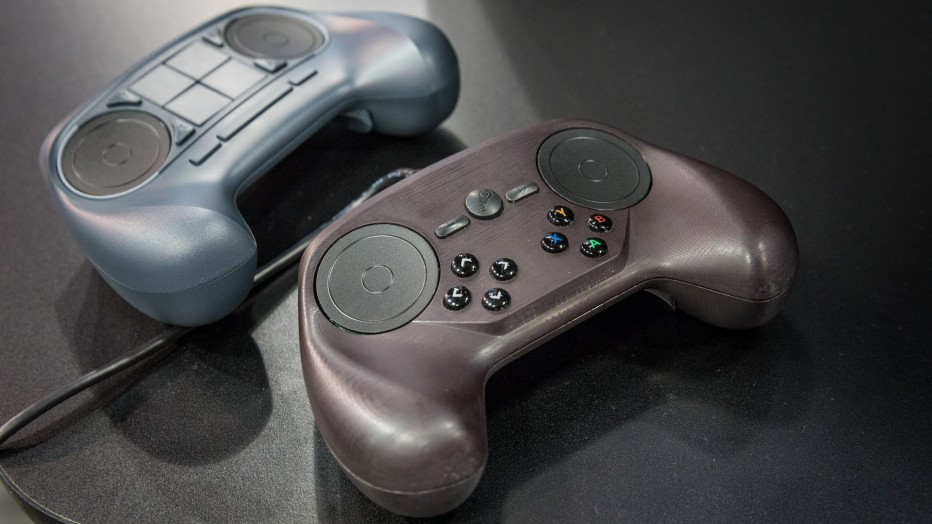 Valve presenta sus Joysticks Steam