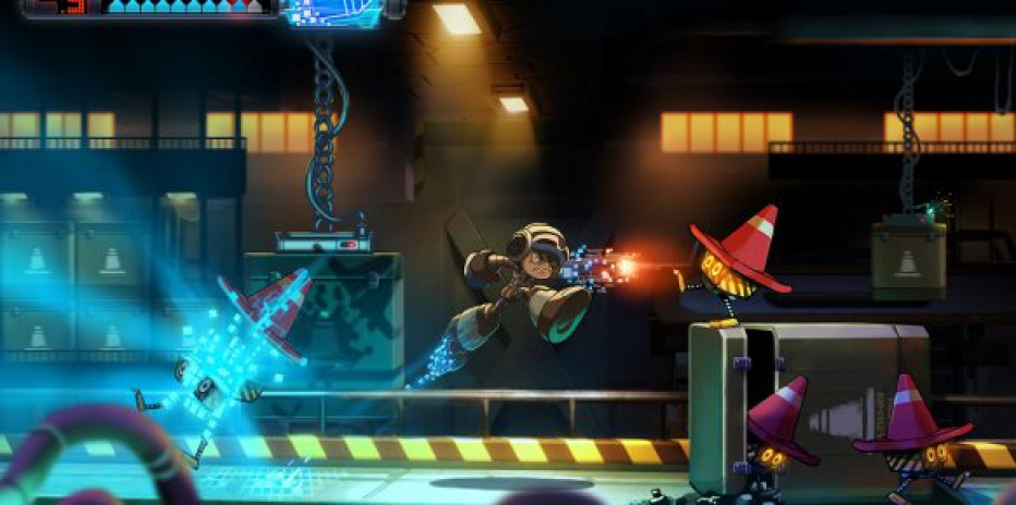 Gameplay extendido de Mighty No. 9