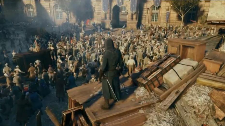 ¡11 minutos de Assassin's Creed Unity desde la GC!