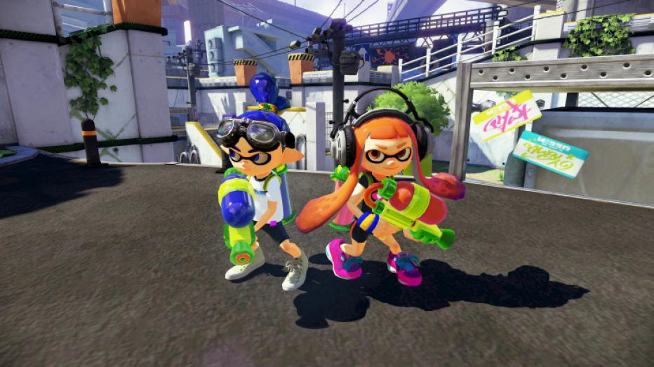 Gameplay extendido de Splatoon