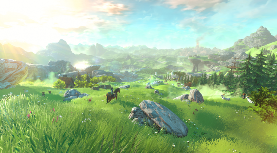 The Legend of Zelda para WiiU llegará en 2016