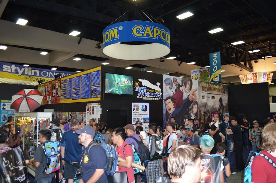¡Recorré el stand de Capcom en la Comic Con!