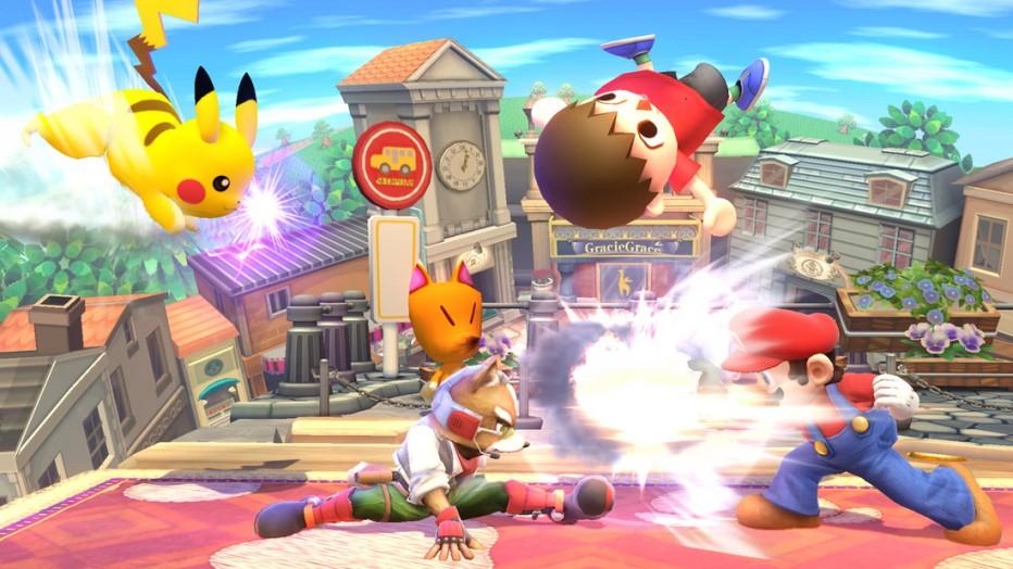 Más personajes en Super Smash Bros