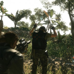 Recorré la jungla africana en MGSV: The Phantom Pain