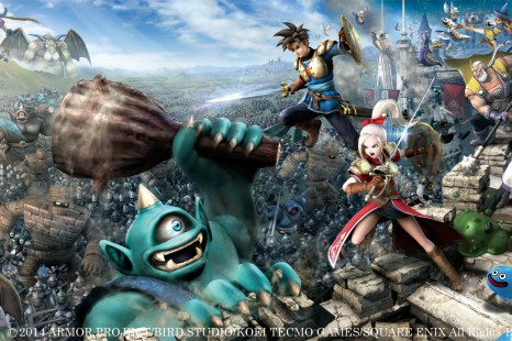 ¡Gameplay de  Dragon Quest: Heroes!