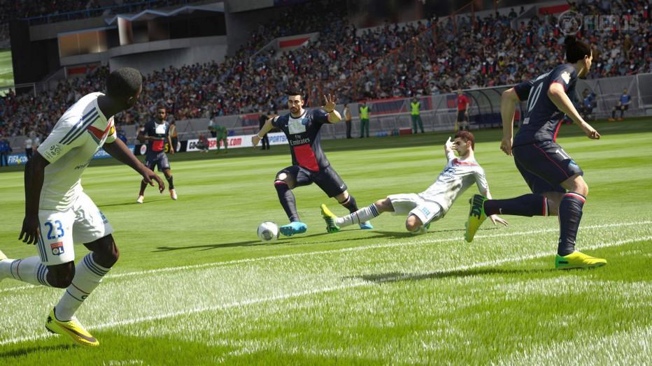 Aprendiendo a gambetear en FIFA 15
