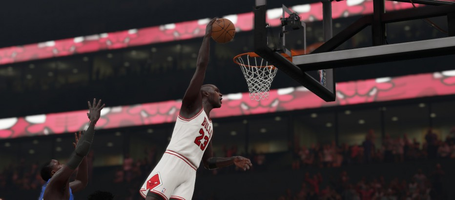 Un partido imperdible en NBA 2K15