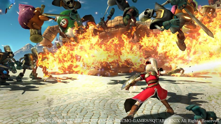 Dragon Quest X muestra su actualización