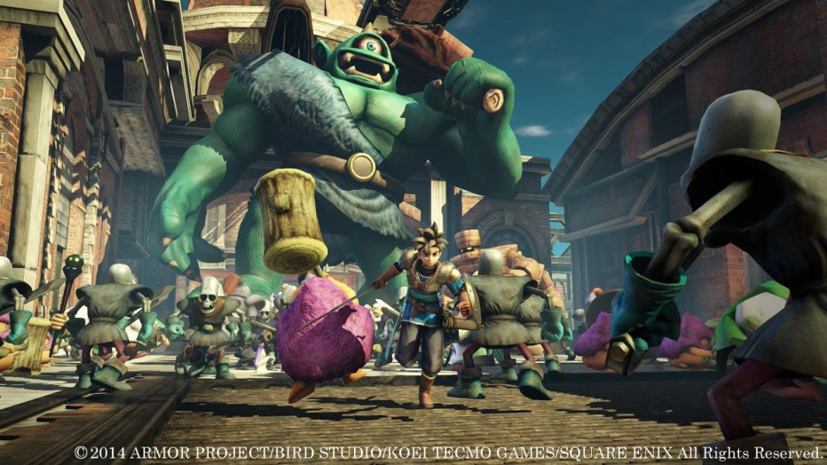 ¡Video extendido de Dragon Quest Heroes (PS4)!