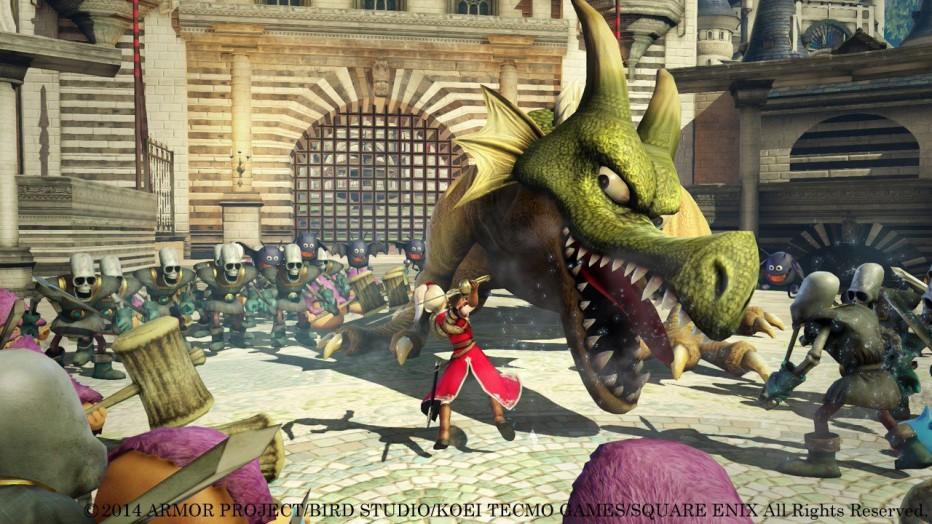 Dragon Quest Heroes: comprativa PS3 y PS4
