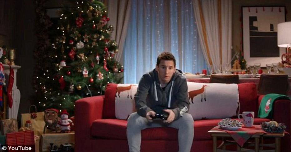 #Messi y #Hazard se enfrentan en FIFA 15