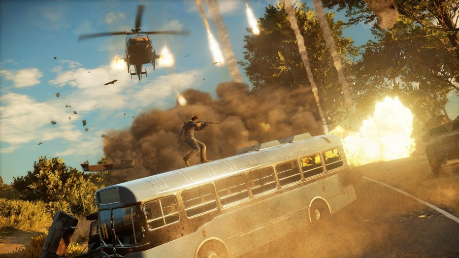 Toda la espectacularidad de Just Cause 3