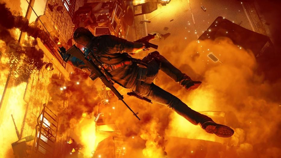 Just Cause 3 ¡una catarata de acción desde la E3!