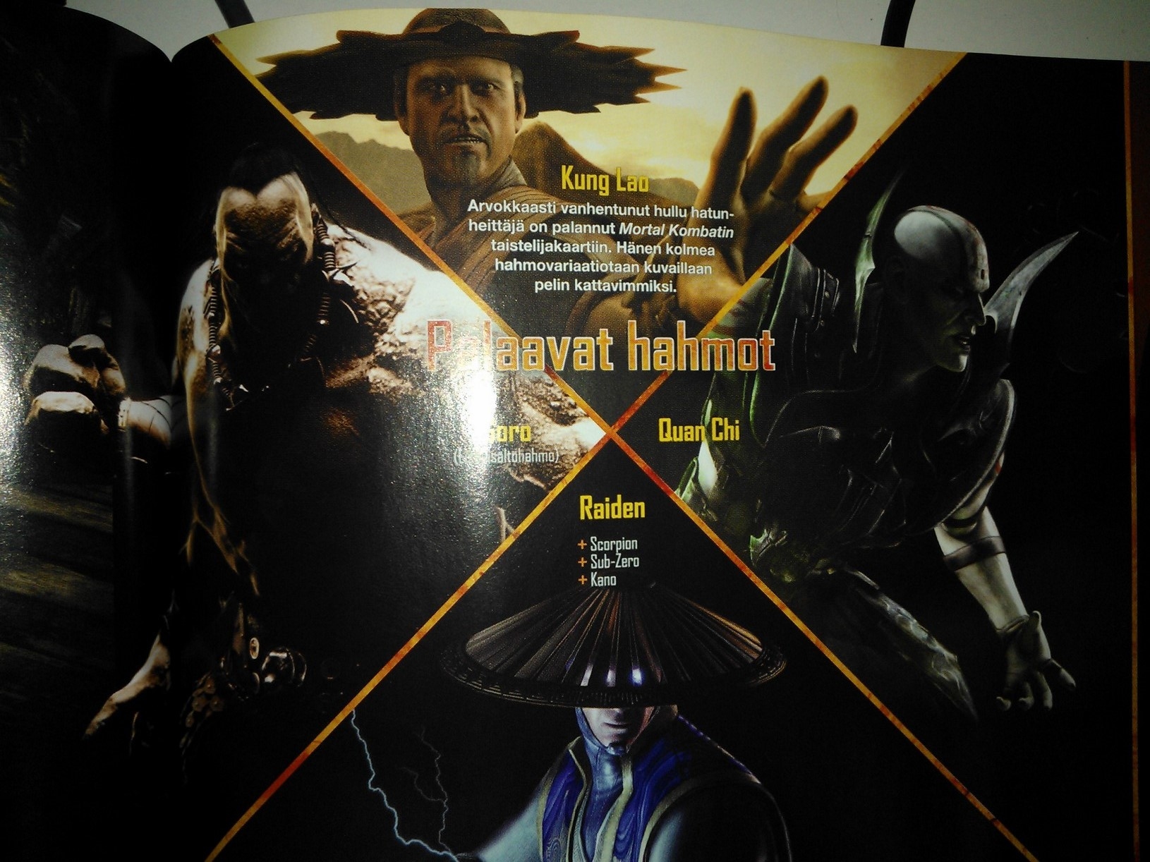 Kung Lao Mortal Kombat X patada