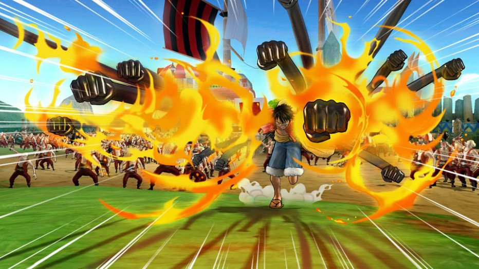 One Piece: Pirate Warriors 3 a todo combo