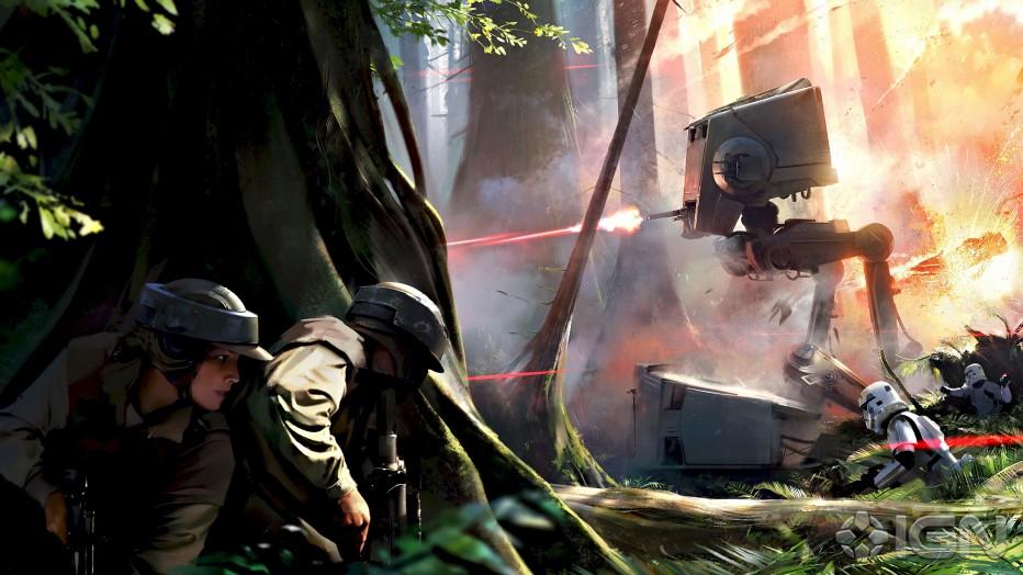 Imperdibles gameplays de Star Wars Battlefront