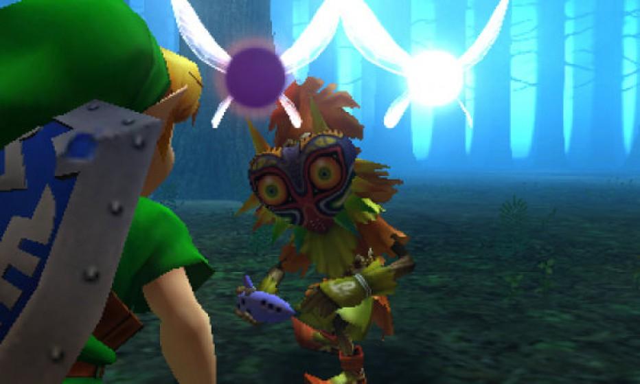 Se acerca The Legend of Zelda Majora's Mask 3D