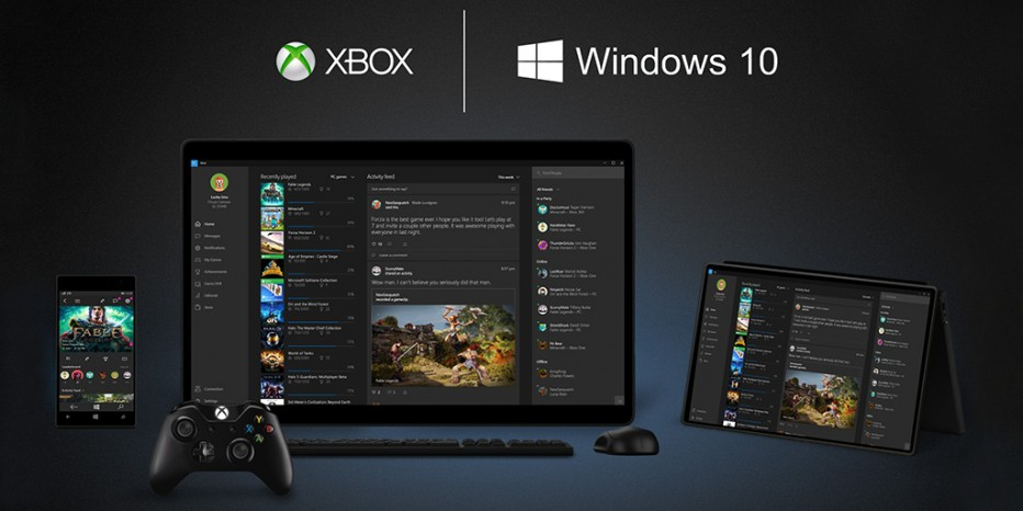Anuncian una APP de Xbox para Windows 10