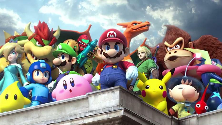 Los Amiibo listos para Super Smash Bros. 3DS