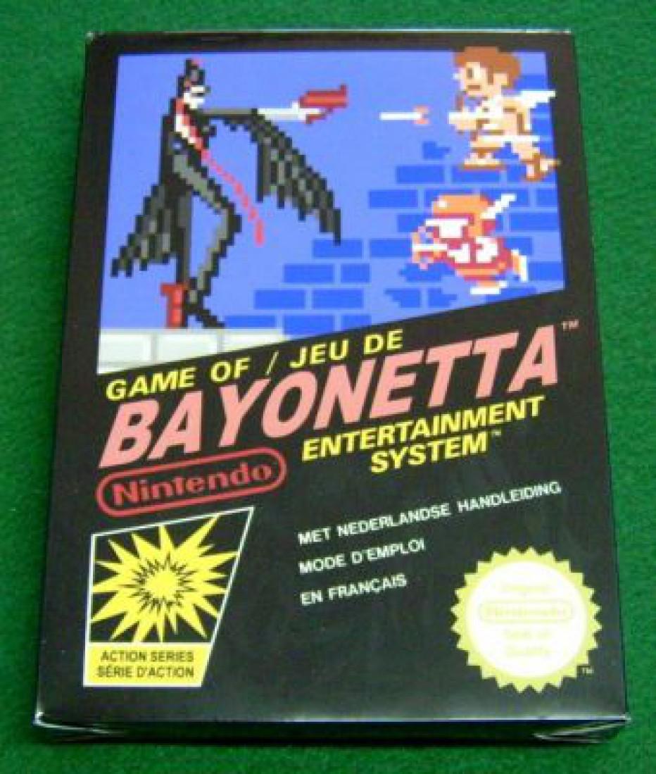 Bayonetta en 8 bits y jugable #Curiosidad