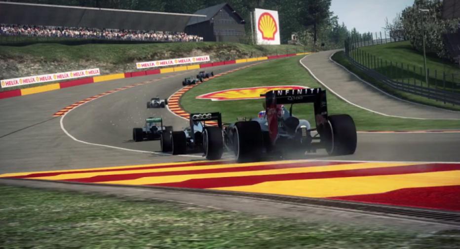 Se filtran las primeras imágenes de F1 2015