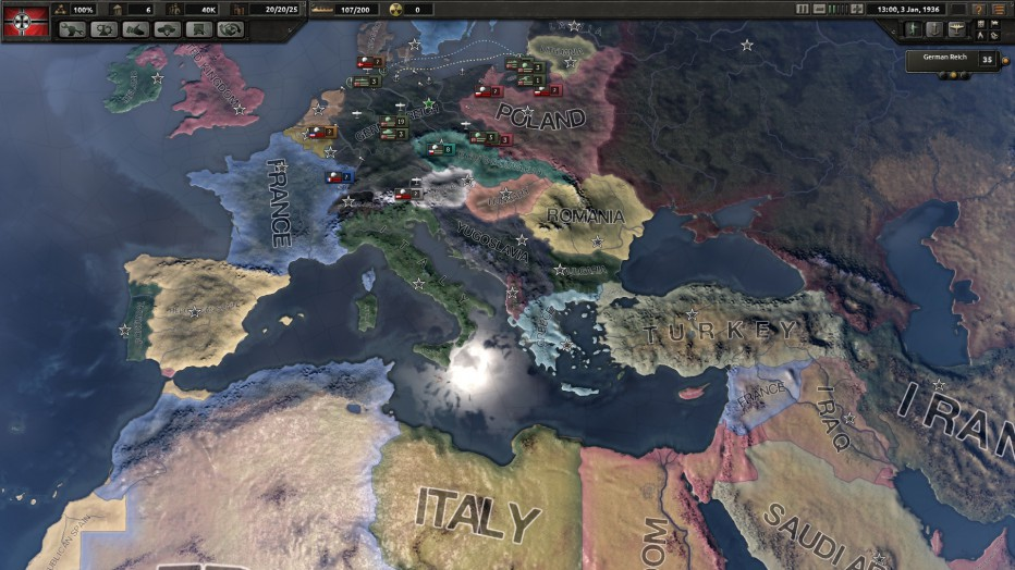 Hacé contacto con Hearts of Iron IV