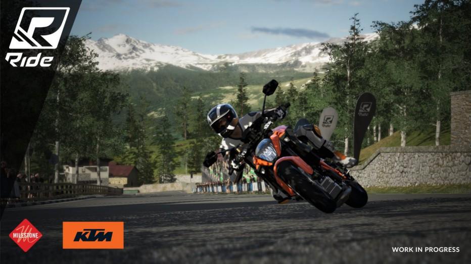 Toda la adrenalina del motociclismo llega con Ride
