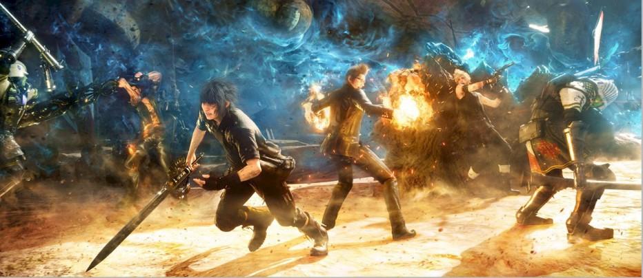¡Nuevos videos de Final Fantasy XV!