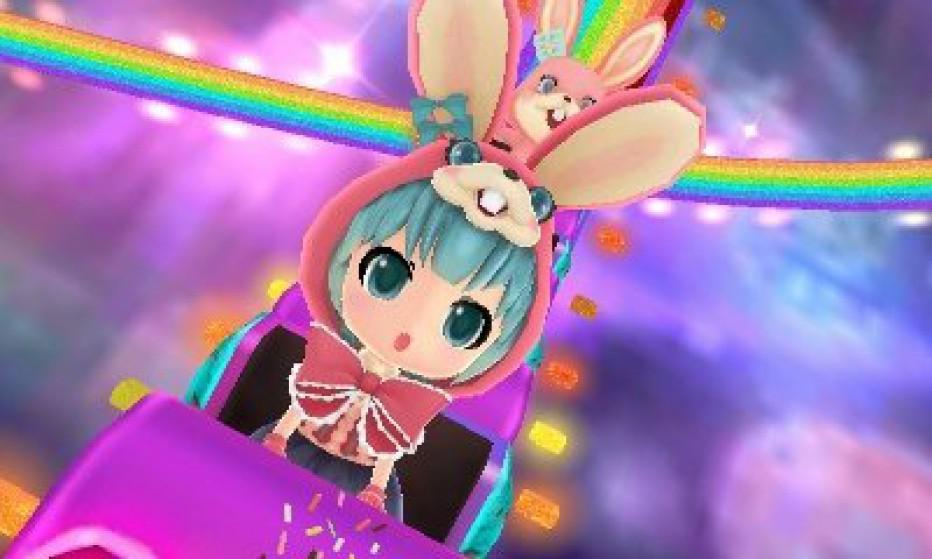 La música llega a 3DS con Hatsune Miku