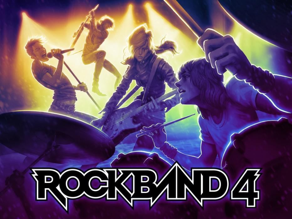 Conocé las primeras canciones de Rock Band 4