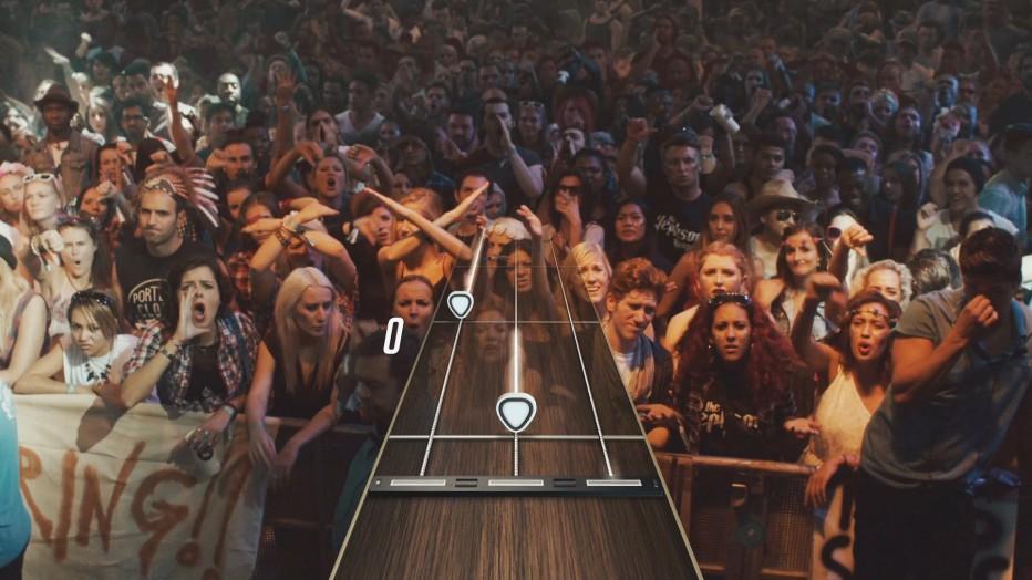Estos son los primeros temas de Guitar Hero Live
