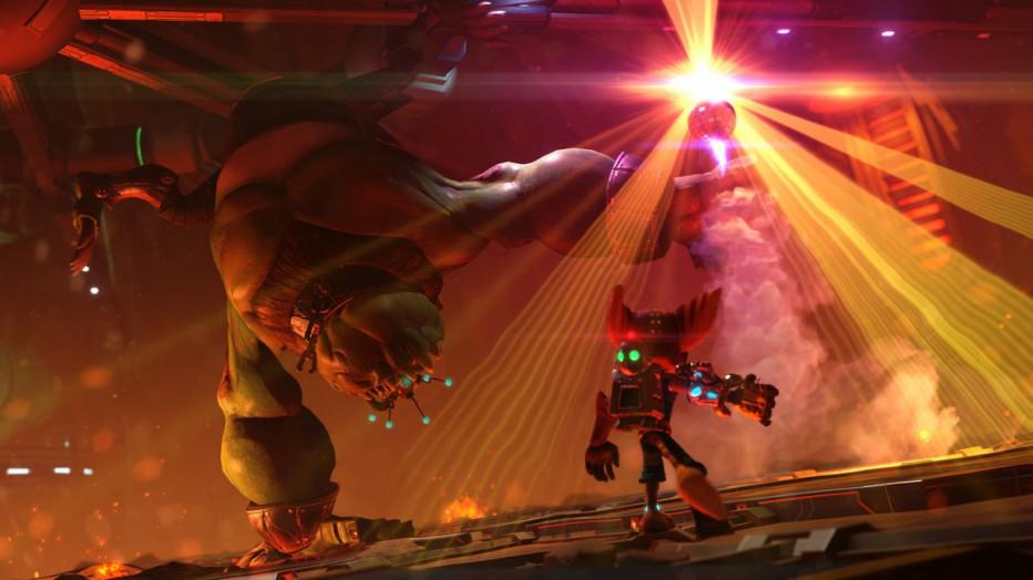 Espectacular trailer de Ratchet & Clank para PS4