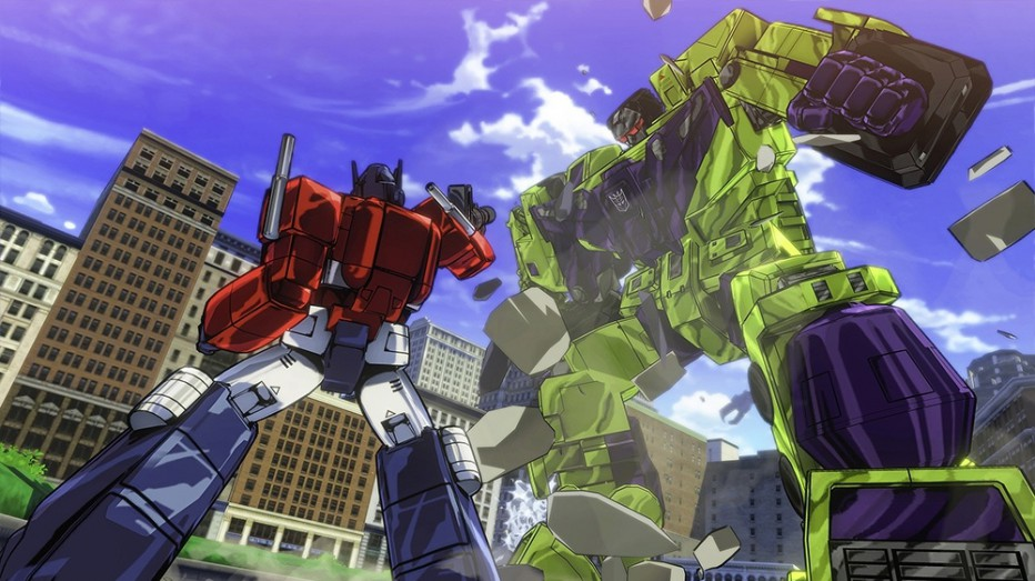 ¡Mirá Transformers Devastation en acción!