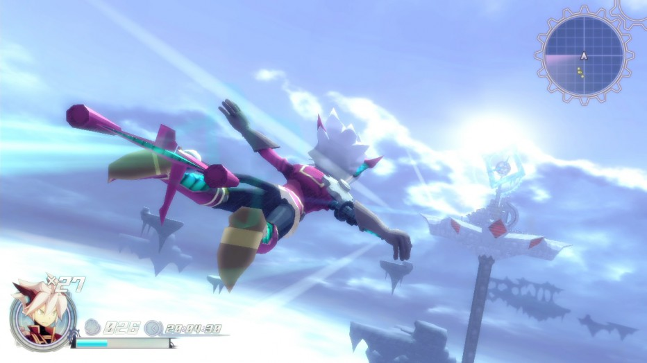 Gameplay de Rodea: The Sky Soldier