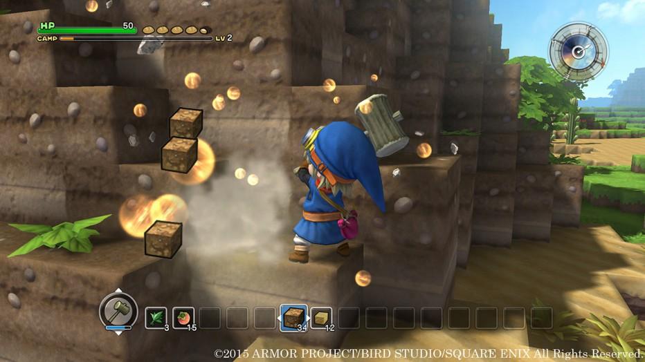 Dragon Quest Builders llegará a PS3, PSVita y PS4
