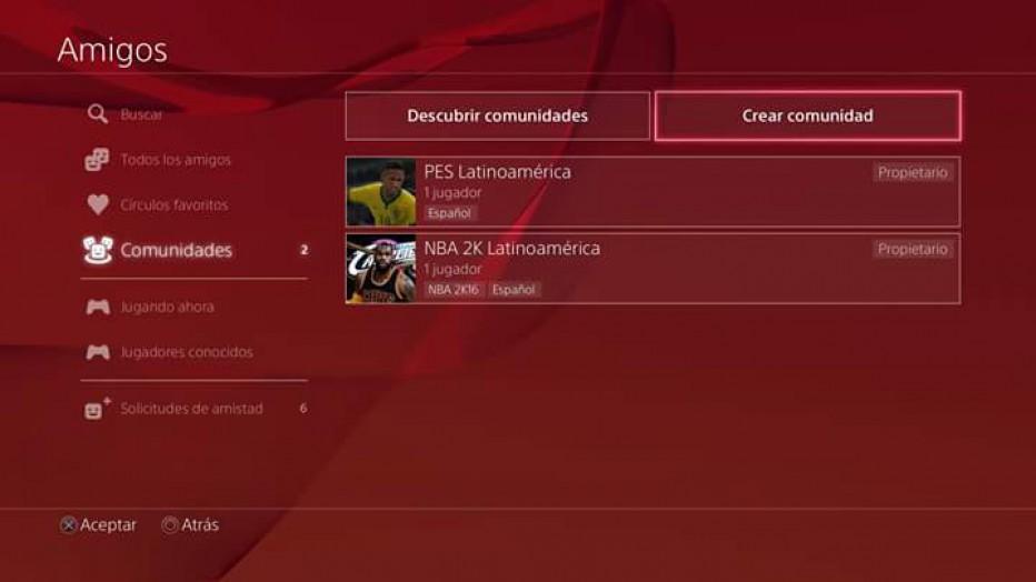 Aprendé como crear una comunidad en PS4