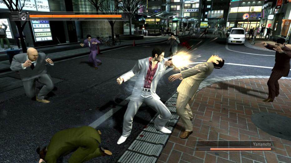 Gameplay extendido de Yakuza 5