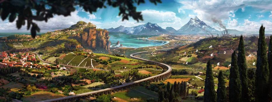 Uno de los mapas más grandes de los videojuegos