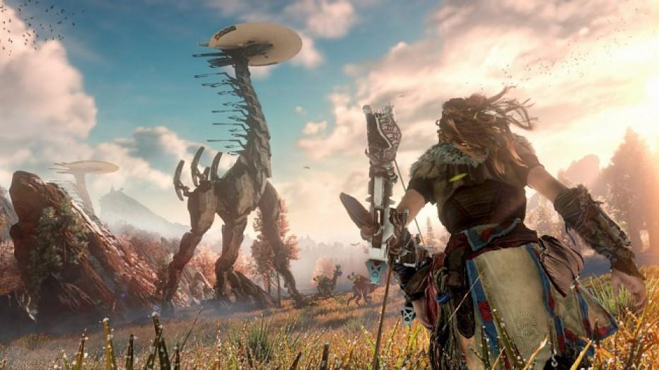 ¡Tremendo gameplay de Horizon Zero Dawn!