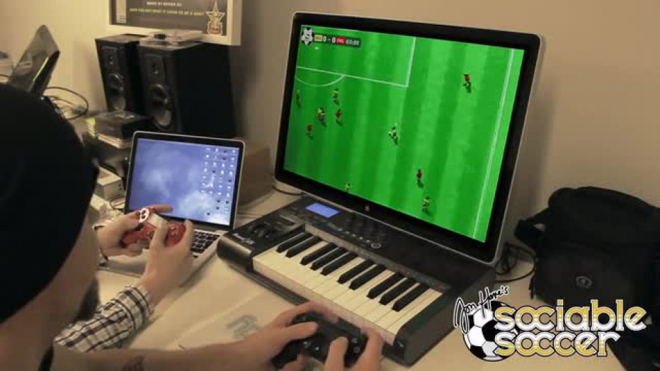 Mini gameplay de Sociable Soccer
