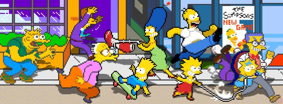 Hoy recordamos el mítico The Simpsons de los fichines