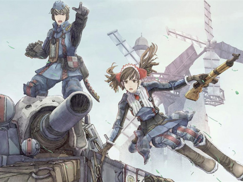 Llega a PS4 Valkyria Chronicles Remaster