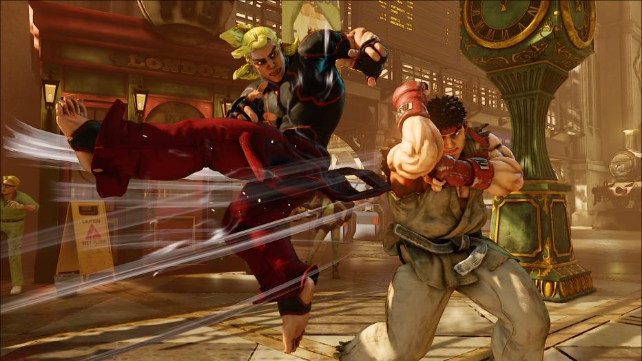 Así pelea el Staff de luchadores de Street Fighter V