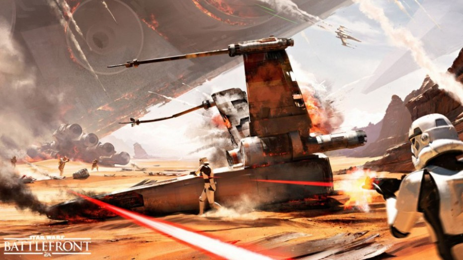 ¡Star Wars Battlefront presenta la batalla de Jakku!