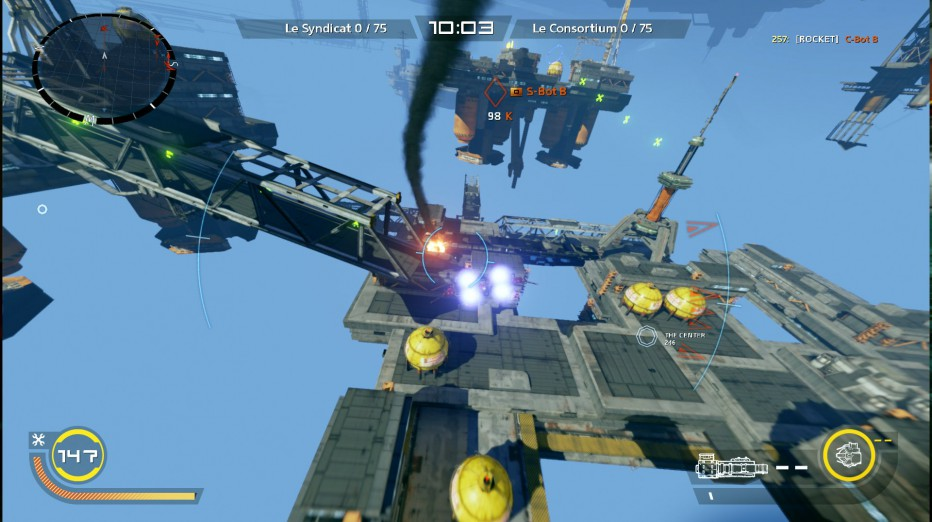 8 minutos de Strike Vector EX