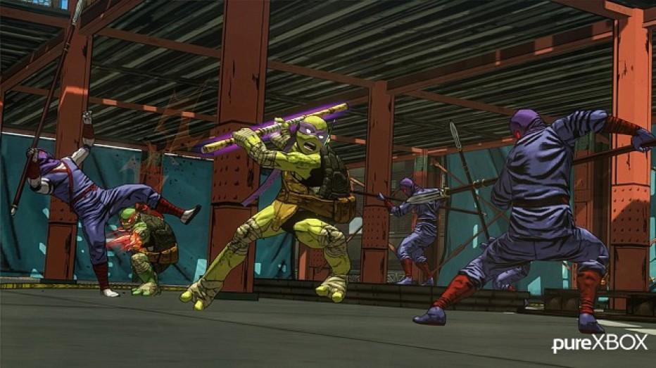 ¡Lo nuevo de las Tortugas Ninja en fotos!