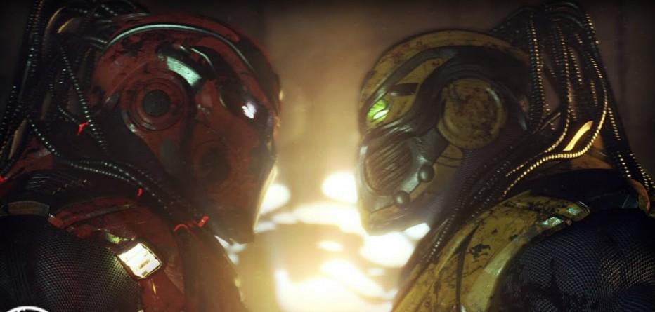 Sektor vs Cyrax en Mortal Kombat X