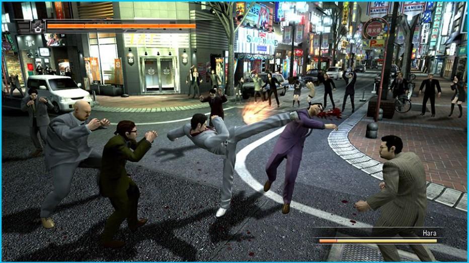 Yakuza 6 – Piña va piña viene