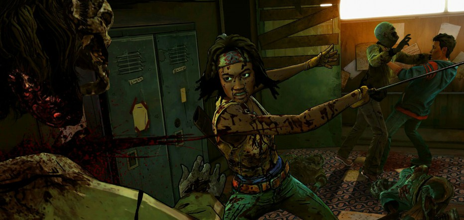 Jugando The Walking Dead: Michonne